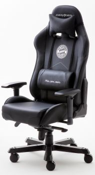 DXRacer KING Gaming Stuhl FC BAYERN BLACK EDITION